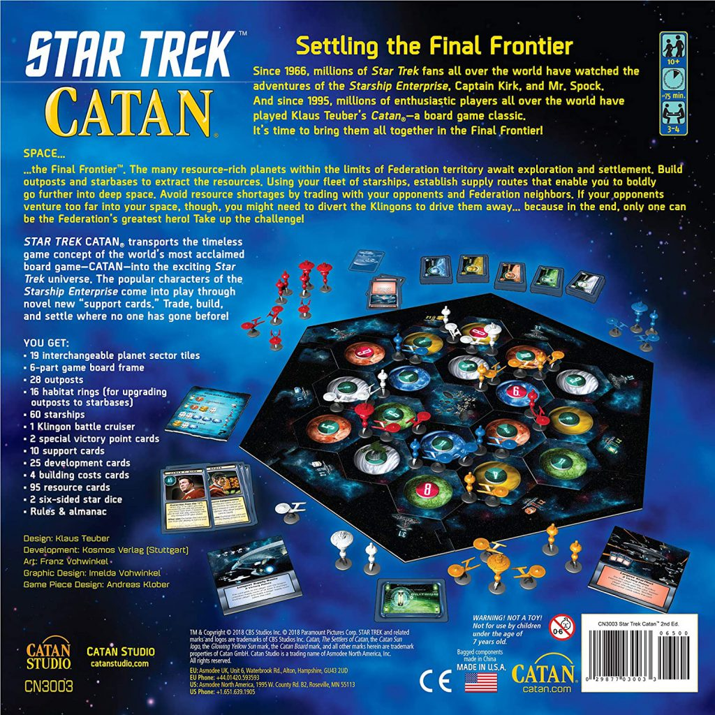 board game Star Trek Catan
